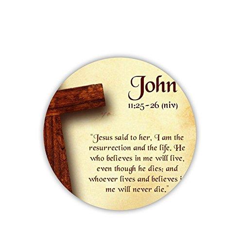 Generic Popular Mdf Material Cup Coaster Printed Bible