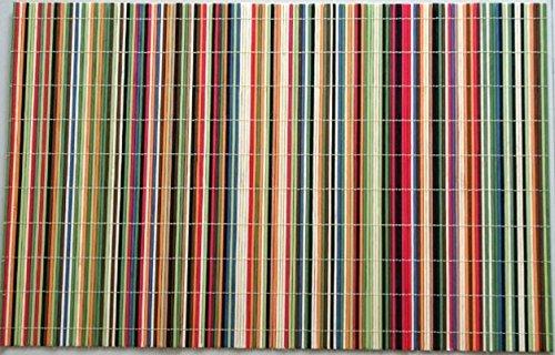 Benson Mills Slats Placemat Rainbow Set of 6