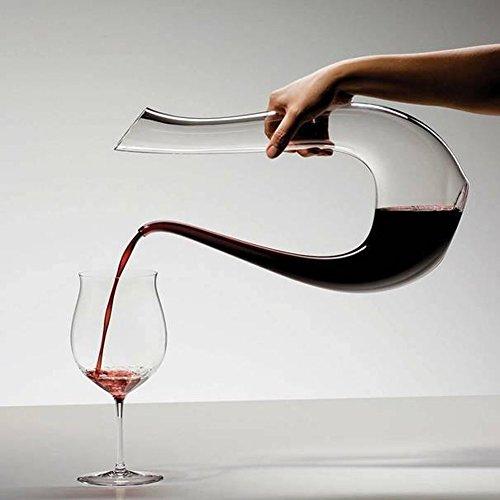 Wine Decanter Aerator Cleaner15L U Shape Classic Wine Aerator Red Wine Carafe Wine Gifts Wine Accessories