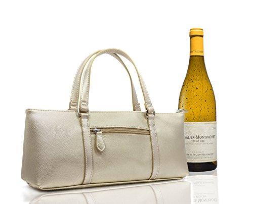 Sachi Wine Cooler Bag Purse Tote Bottle Liquor Hand Carrier Event