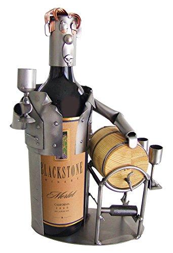 H K Sculptures Male Wine Taster Wine Bottle HolderWine Caddy  null