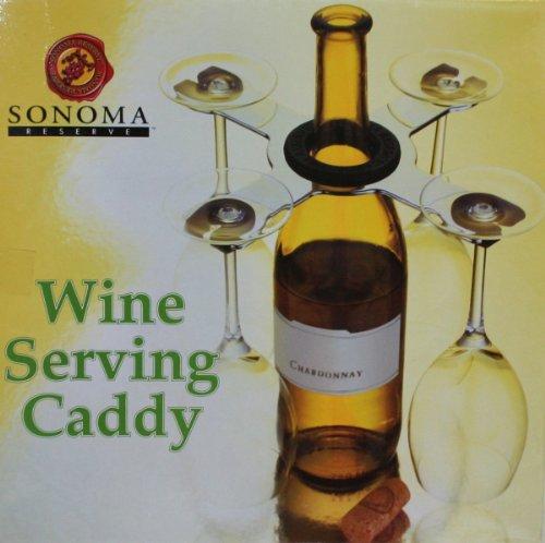 Sonoma Reserve Wine Serving Caddy