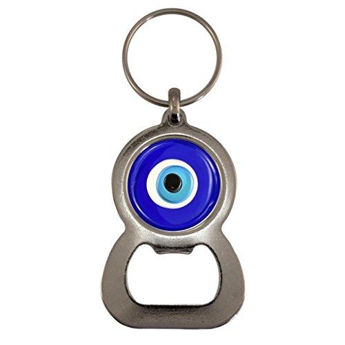 Evil Eye of Protection Metal Bottle Opener Keyring in Gift Box