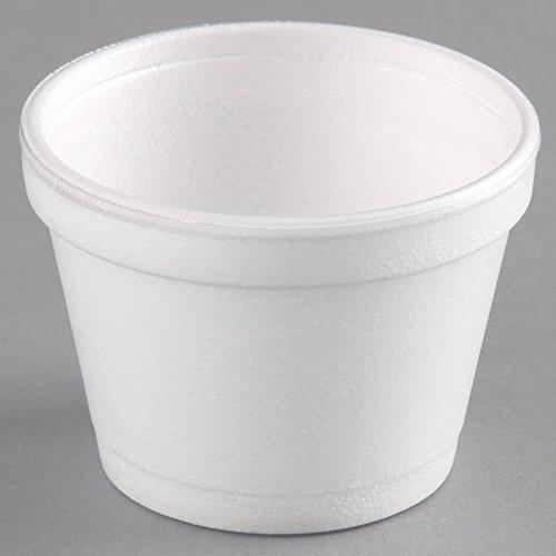Dart 12SJ20 CPC 12 oz Squat Food Container Foam - White44 Case of 500