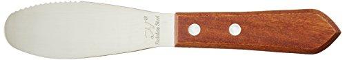NEW Wide Sandwich Spreader Butter Knife Knives Cheese Spreader Stainless Steel Blades Restaurant Grade Set of 6