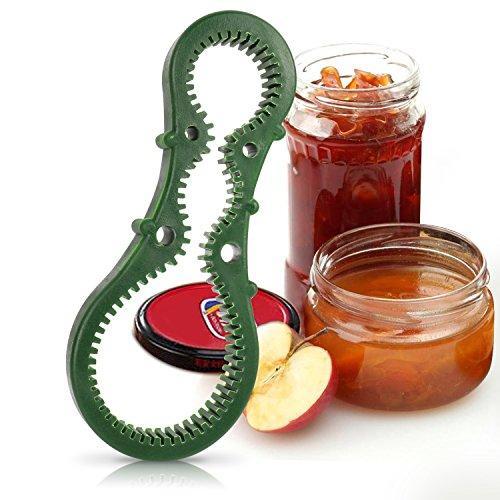 Jar Opener Sokos Multi Purpose Grip Easy Twist Jar Bottle Top  Lid Opener Useful Random Color