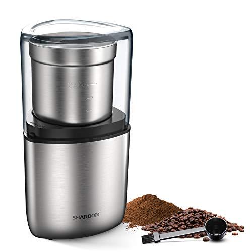 SHARDOR Coffee Grinder Electric Spice Grinder 1 Removable Bowl Grinder for Coffee Beans