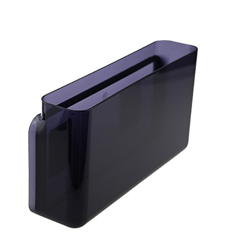 Peel and Stick Wall Storage BoxStrong Self-Adhesive Organizer for Living Room KitchenPantryLaundry RoomBathroomBedroomOfficeClassroomLarge Dark Purple