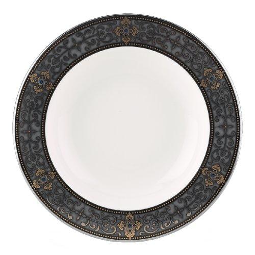 Lenox Vintage Jewel Platinum Banded Bone China Pasta BowlRim Soup