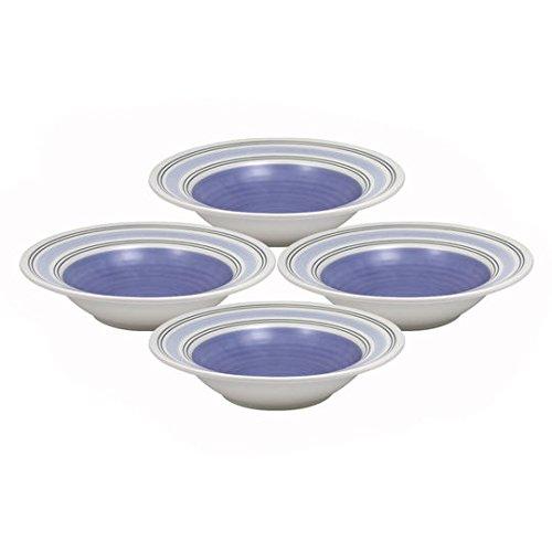 Pfaltzgraff Rio Rim Soup Bowls Set of 4