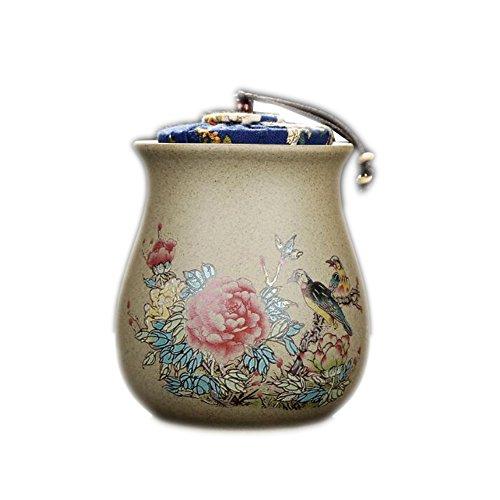 Chinese Retro Ceramics Tea Jars Storage Jars for Tea Loose Leaf Herbs Condiment