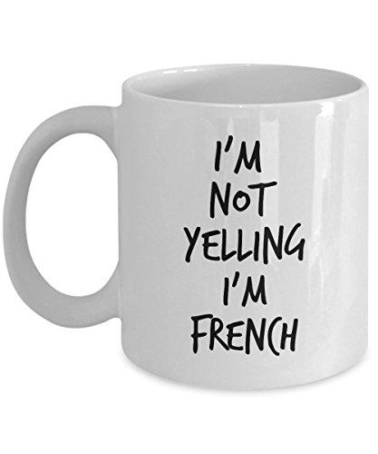 Funny France Coffee Mug 11oz Gift for French