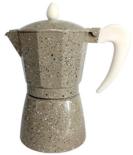 Cuisinox Crema COF-6MA 6-Cup Espresso Stovetop Coffeemaker Beige