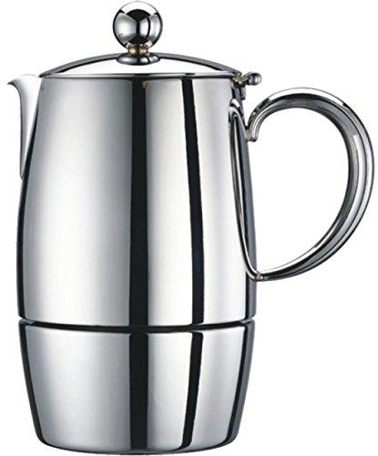 Cuisinox Firenza 6 Cup Espresso Coffeemaker Silver