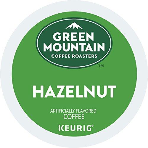 Green Mountain Coffee Hazelnut Keurig Single-Serve K-Cup Pods Light Roast Coffee 24 Count