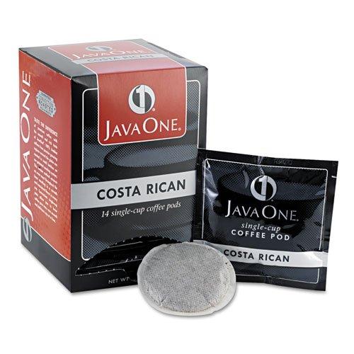 Java One - Coffee Pods Estate Costa Rican Blend Single Cup 14Box 30400 DMi BX