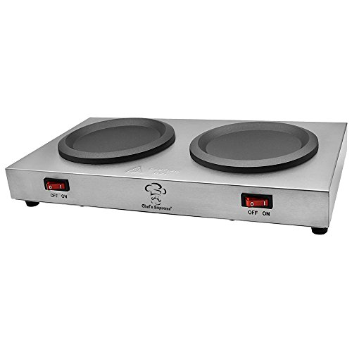 Chefs Supreme - Stainless Double Coffee Warmer