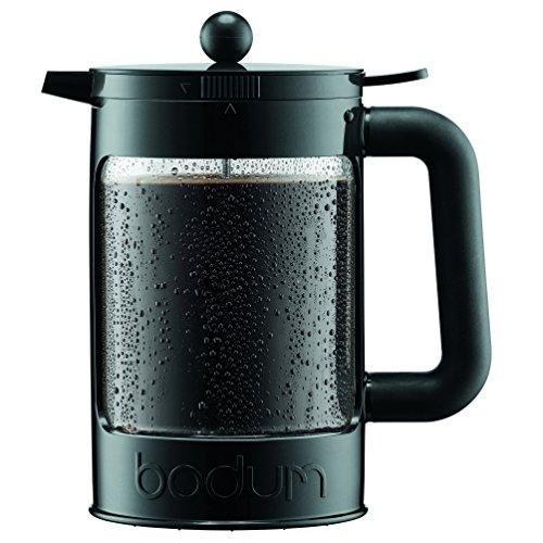 Bodum K11683-01 Bean Cold Brew Coffee Maker Set 15 L51 oz Black