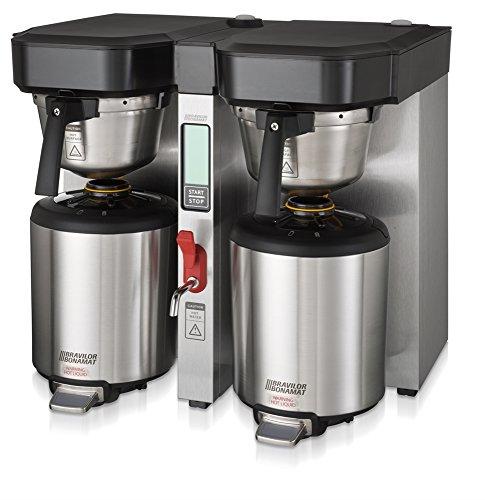 Bravilor Bonamat 804008821004-208V-LP Twin Tank Low Profile Thermal Coffee Brewer 15 gal Stainless Steel 208V