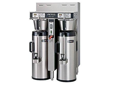 Fetco Dual 15 Gallon Thermal Coffee Brewer Cbs-52H-15-C52026