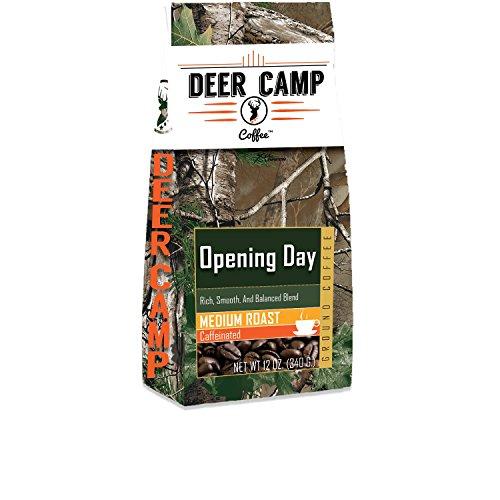 Deer Camp Coffee Opening Day Ground Coffee Medium Roast 12 oz
