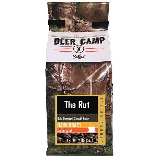 Deer Camp Coffee The Rut Ground Dark Roasted 12 oz