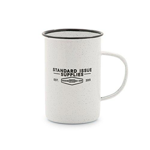 Standard Issue Enamelware Camp Coffee Mug
