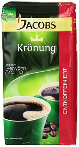 Jacobs Coffee Jacobs Kronung Free 176-Ounce Pack of 3