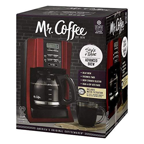 Mr Coffee BVMC-SJX36GT 12 Cup Programmable Coffeemaker