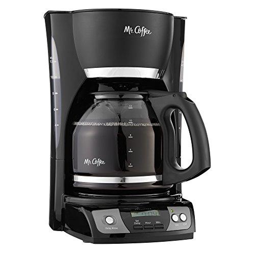 Mr Coffee Simple Brew 12-Cup Programmable Coffee Maker Black