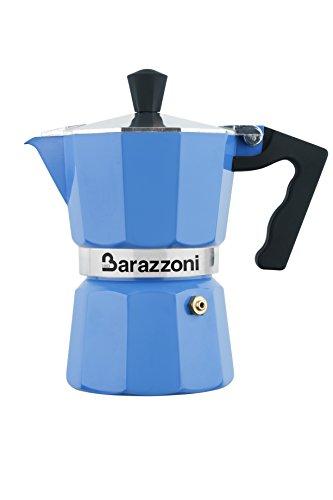 Barazzoni Light blue Coffee maker in aluminium h 16 cm - 3 cups