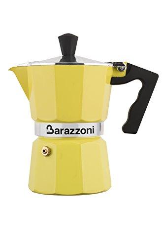 Barazzoni Yellow Coffee maker in aluminium h 16 cm - 3 cups