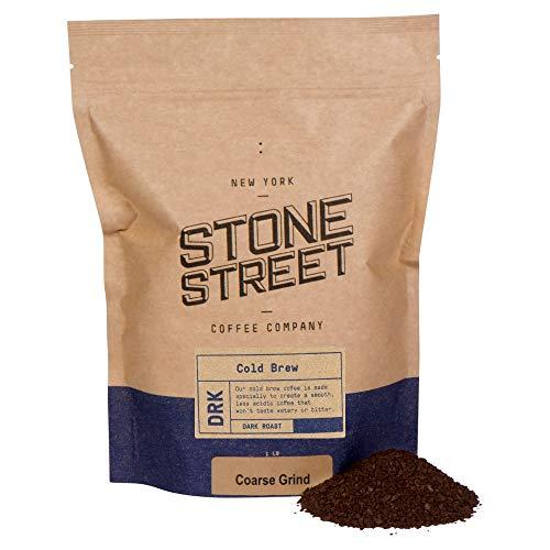 Stone Street Coffee Cold Brew Reserve Colombian Single Origin Coarsely Ground Coffee - 1 lb Bag - Dark Roast