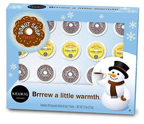 Keurig The Original Donut Shop Holiday Variety Pack K-Cup packs 20 Count