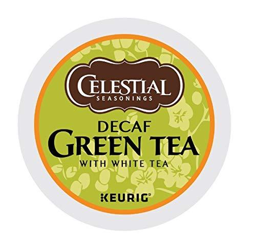 Celestial Seasonings Decaf Green Tea K-Cup Portion Pack for Keurig K-Cup Brewers 24-Count Pack of 2 - Packaging May Vary