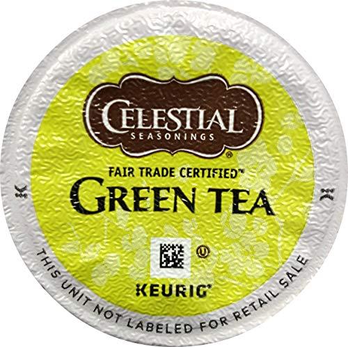Keurig Celestial Seasonings Natural Antioxidant Green Tea K-Cup packs 30 Count