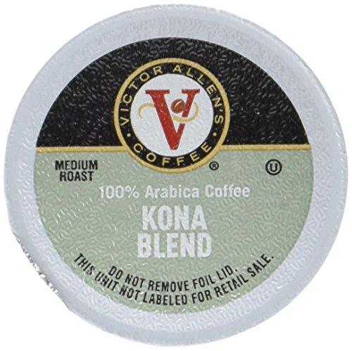 Victor Allen Coffee Kona Blend Single Serve K-Cup 42 Count