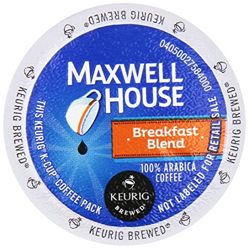 Keurig - MAXWELL HOUSE BREAKFAST BLEND K CUP COFFEE 72 COUNT