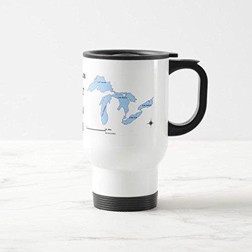 Zazzle Michigan Coffee Mug White TravelCommuter Mug 15 oz