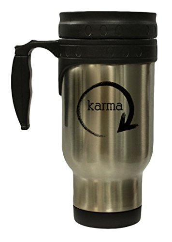 What Goes Around Comes Around Karma 12 oz Hot Cold Travel Mug