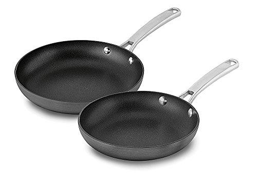 Calphalon 1943335 2 Piece Classic Nonstick Fry Pan Set Grey