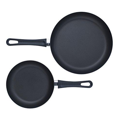 Scanpan Classic 2 Piece Fry Pan Set Black