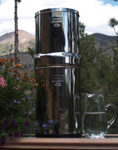 Berkey CRN8x8-CF Crown Berkey 60 Gal Stainless Steel Water Filter with Ceramic Filters