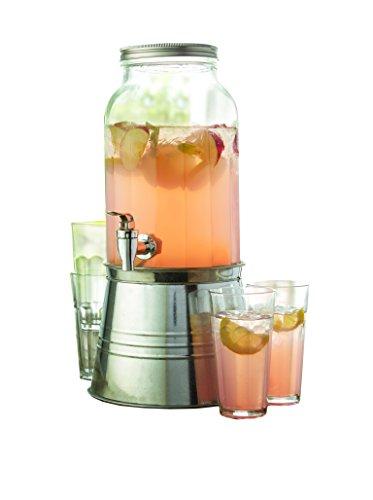 Newport 6 Piece Beverage Dispenser Set
