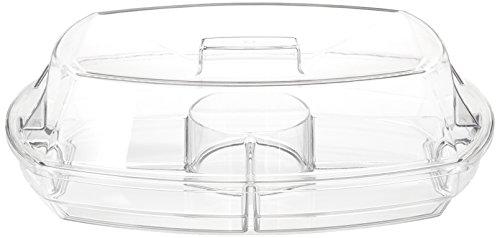 Prodyne Flip-Lid Appetizers on Ice Clear