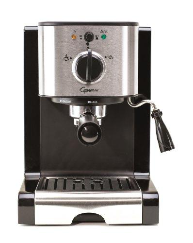 Capresso 11604 Pump Espresso and Cappuccino Machine EC100 Black and Stainless