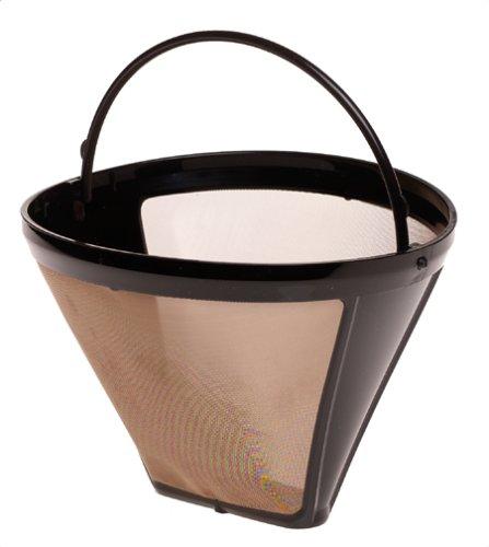 Capresso 75009 Size-4 Cone GoldTone Filter