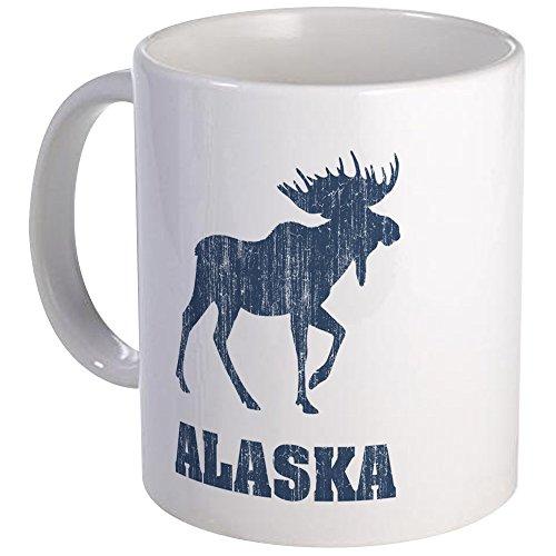 CafePress - Retro Alaska Moose Mug - Unique Coffee Mug Coffee Cup