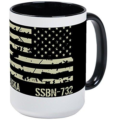 CafePress - USS Alaska - Coffee Mug Large 15 oz White Coffee Cup