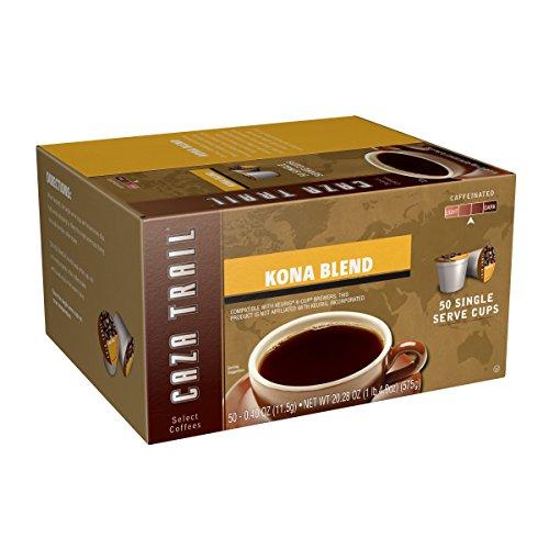 Caza Trail Coffee Kona Blend 50 Single Serve Cups